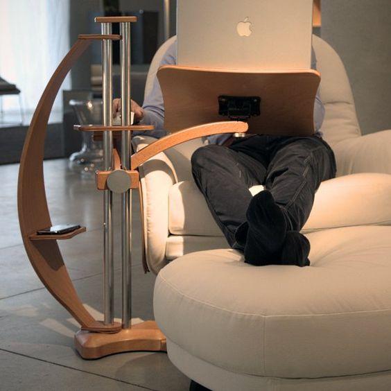 Ergonomic Laptop Table By Lounge Tek Style Laptop Stand