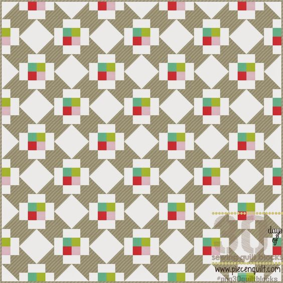 Piece N Quilt: How to: Northern Lights Quilt Block - 30 Days of Sewing Quilt Blocks