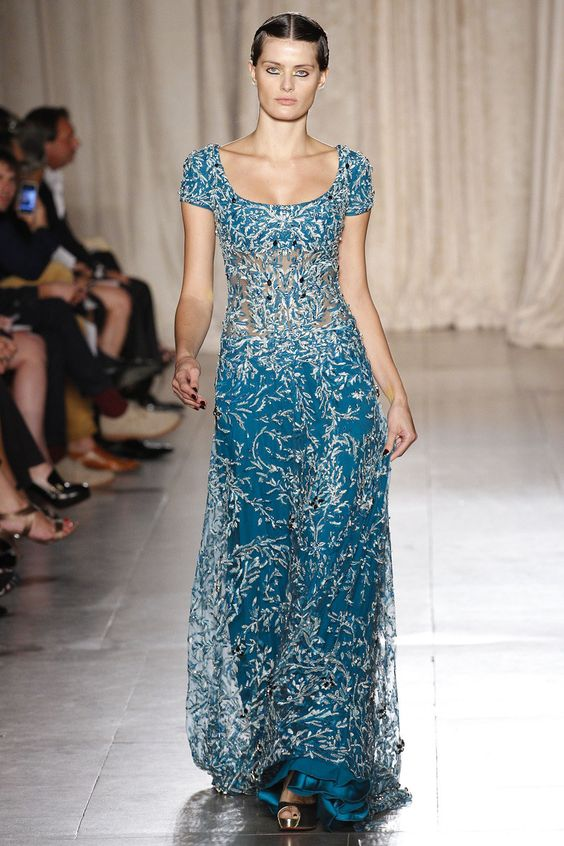 Marchesa Spring 2013 Ready-to-Wear Fashion Show - Isabeli Fontana