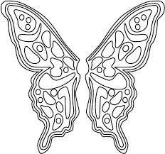 butterfly wing template - Google Search | Butterflies | Pinterest ...