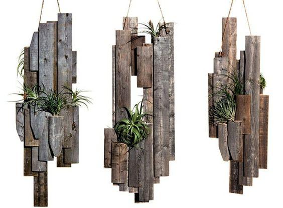pflanzampel holz selber bauen auf dem holzweg pinterest kreativ ideen und selber machen. Black Bedroom Furniture Sets. Home Design Ideas