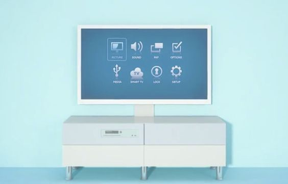 Ikea Uppleva is a TV, TV stand, MP3 player and more.