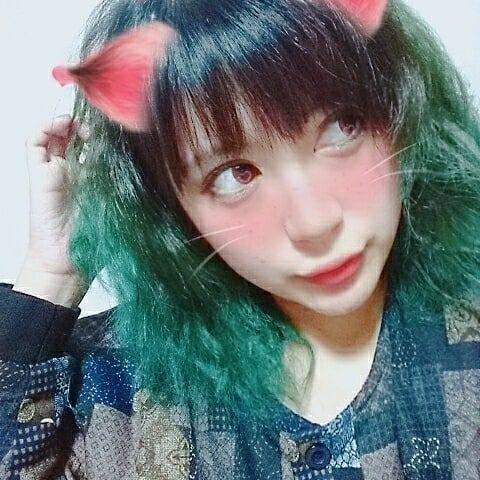 緑頭にしました 緑 グリーン ヘアカラー グラデーションカラー ブリーチ 原色 マニックパニック マニパニ 美容室 美容院 派手髪 まりも まりもっこり Haircolor Hair Manicpanic Green Color ヘアカラー 派手髪 ヘアアレンジ