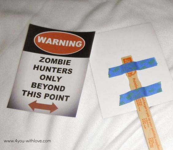 4 You With Love: #MyFavoriteBloggers - Zombie Style