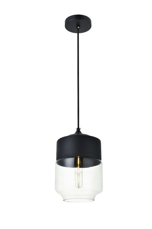 Abingt 1 Light Single Schoolhouse Pendant In 2020 Bathroom Light Fixtures Ceiling Pendant Lighting Bedroom Black Pendant Light Kitchen