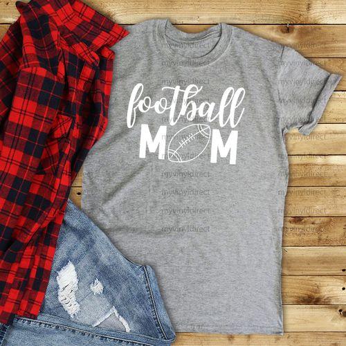 Pin By My Vinyl Direct On Cricut Projects Football Mom School Spirit Shirts Shirt Accessories