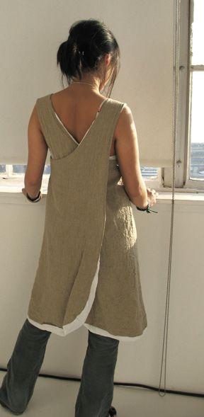 Cute long apron