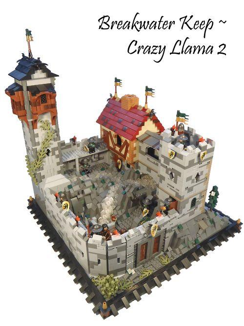 Breakwater Keep (by CrazyLlama2) | LEGO Admiration ...