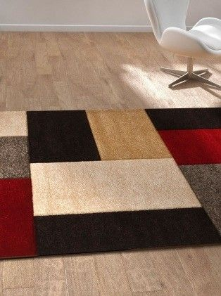 Tapis contemporain pablo saint maclou deco brico pinterest saints Beaux tapis contemporains