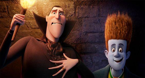 Sony Pictures divulga novas imagens da animação Hotel Transilvânia