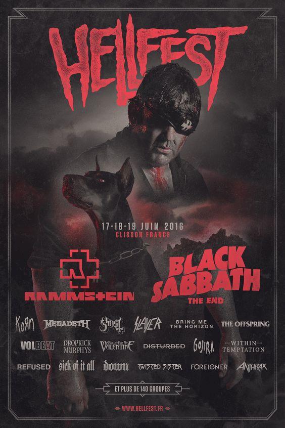 Hellfest festival 2016