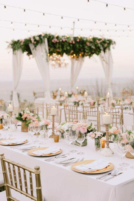 Jordan and Mercy's Blush and Gold Elegant Bali Garden Wedding {Facebook and Instagram: theweddingscoop}