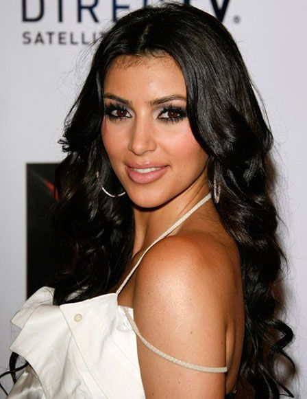 Kim Kardashian Hair || Celebrity Hairstyles #Hair #Hairstyles #Haircuts #Hairstyle #Haircut #Celebrity @Pinterest