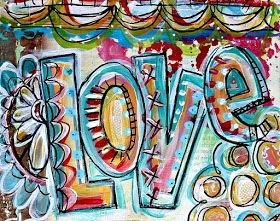 Art by Erin Leigh: 31 Days of Scripture Art Journaling::Day 14: Using Stencils in Your Art Journal