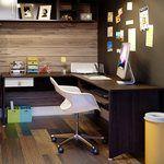 Estação de Trabalho New Light Tabaco/Branco - Artany | Lojas KD