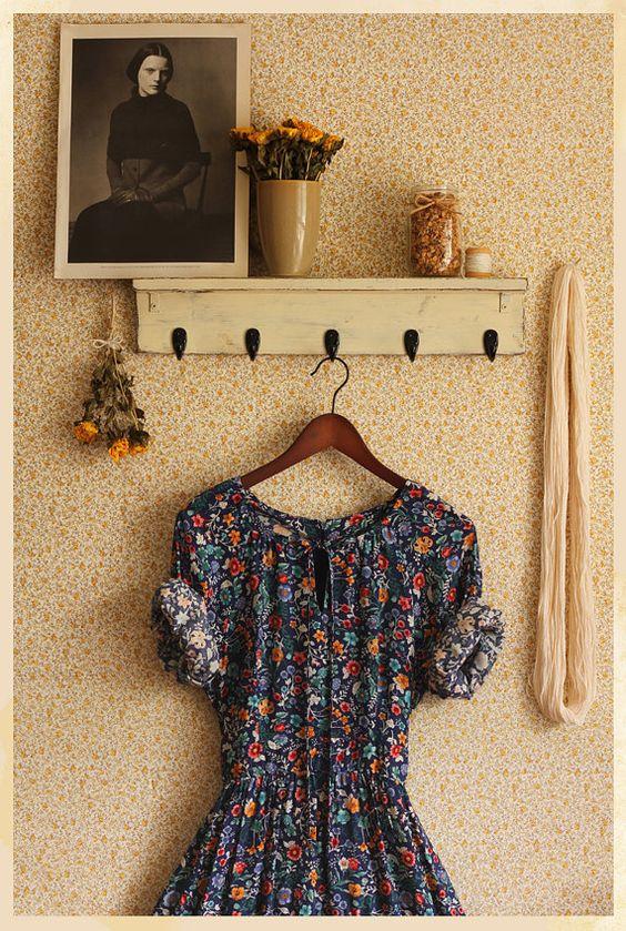 Floral Vintage Dress... El vintage que todas adoramos...: