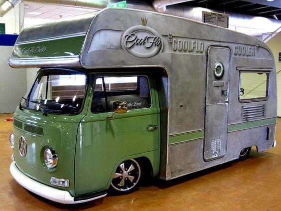 cool flo - cooler: Airstreams Rvs Buses, Vw Campers, Vehicle Vw, Travellingpoet Campervans, Vw Buses, Cars Bikes Campers, Campers Rv S, Vw Vans