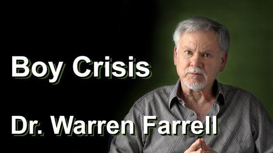 Dr. Warren Farrell on the Boy Crisis