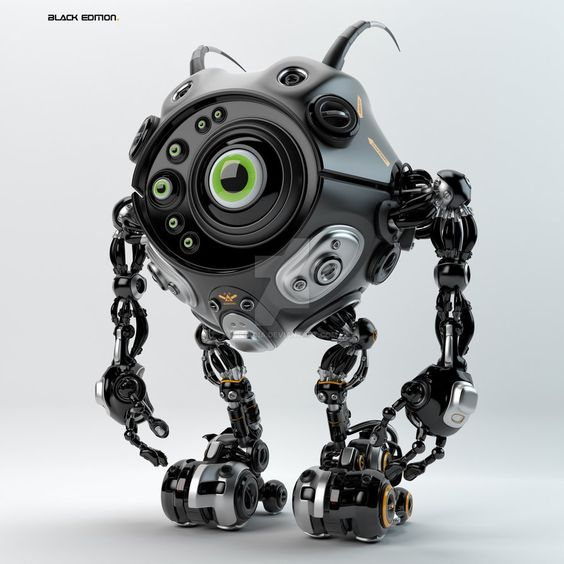 Beetle-like robotic creature by Ociacia on DeviantArt