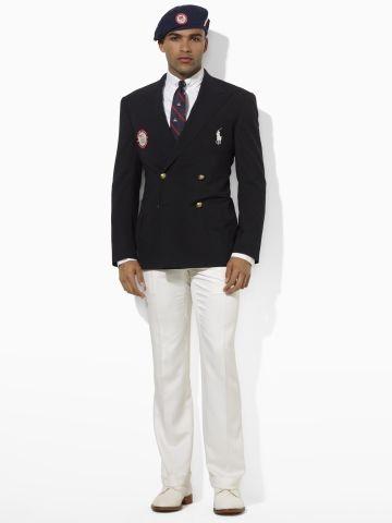 Team USA Double-Breast Blazer - Polo Ralph Lauren Sport Coats - RalphLauren.com