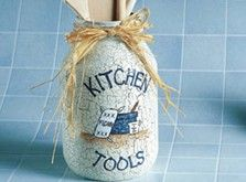 Kitchen Tools Mason Jar