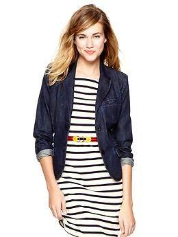 now there's a blazer I would love to wear, just may have to splurge on this one ...: