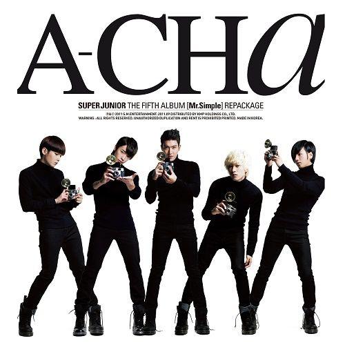 SUPER JUNIOR – A–CHA – The 5th Repackage Album