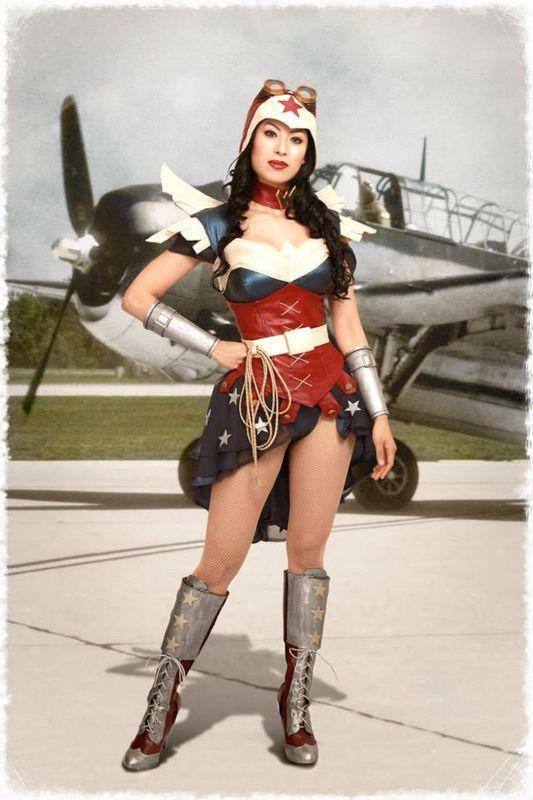 Apotheosis Cosplay's Steampunk Wonder Woman