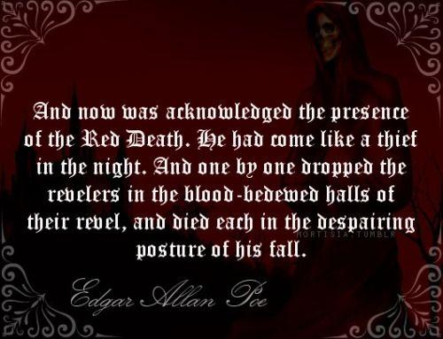 edgar allen poe masque of the Edgar poe (boston, 19 janvier 1809 - baltimore, 7 octobre 1849) est un poète, romancier, nouvelliste,  the masque of the red death - epub edgar allan poe.