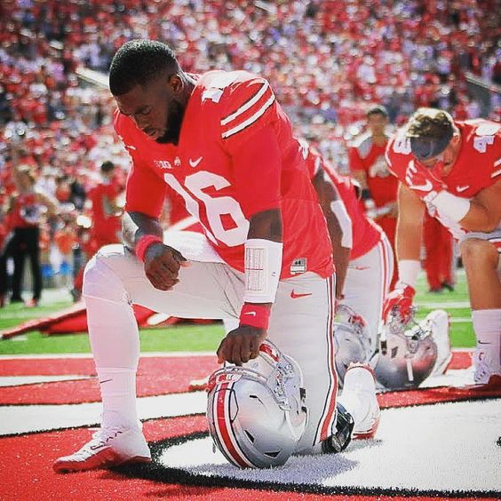 JT Barrett #Respect #Praying 🏈💚💚 #Buckeyes🌰🌰