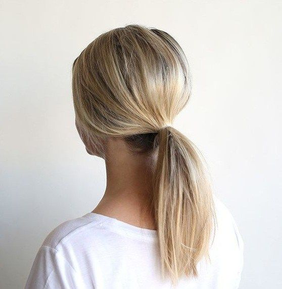 10 Quick Steps How To Make Low Ponytail In Minutes Ponytail Hairstyles Easy Short Hair Ponytail Low Ponytail Hairstyles