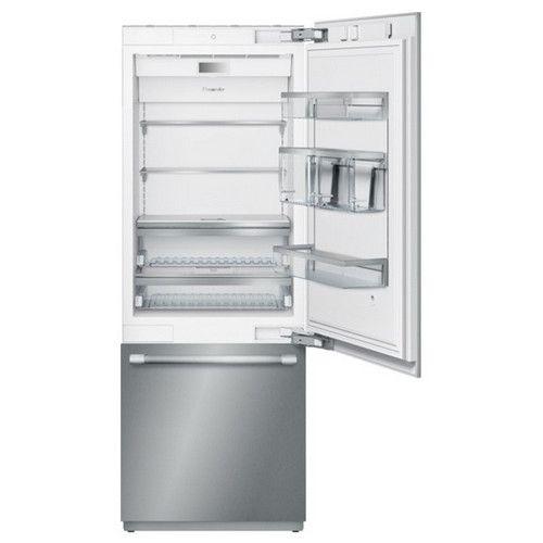 Refrigerator Thermador Bottom Freezer Built In Refrigerator