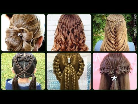 Stylish Hairstyle Ideas For Girls 2020 Must Try Easy Hairstyle For Girls Youtube In 2020 Hair Styles Stylish Hair Girl Hairstyles