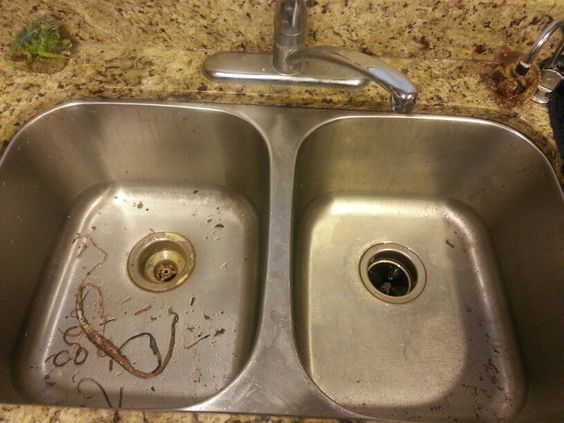 Kitchen sink project with 3 different types of caulking for Different types of sinks