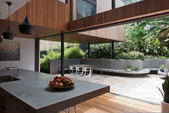 New houses winner, Flipped House, mck architects: Photo Willem Rethmeier