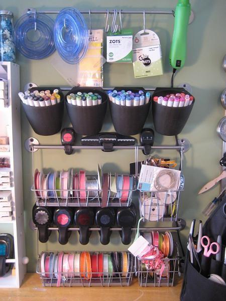 Tool & Ribbon Storage