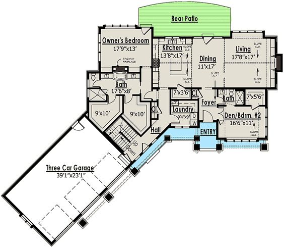 Plan 18249be Red Cottage With In Law Suite Traditional