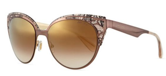 Lace Pattern Cat-Eye Sunglasses