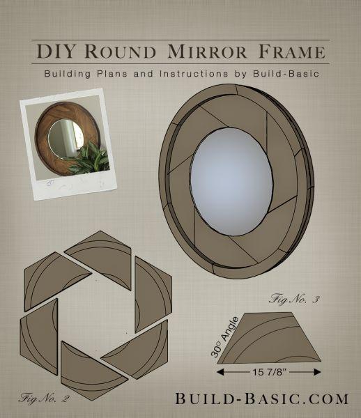 Build A Diy Round Mirror Frame