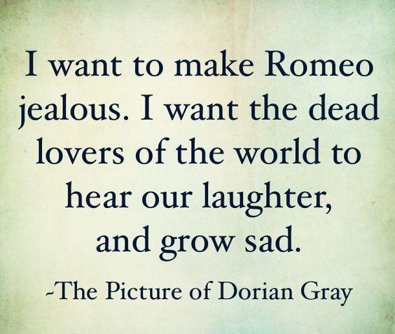 The picture of dorian gray aesthetics essay