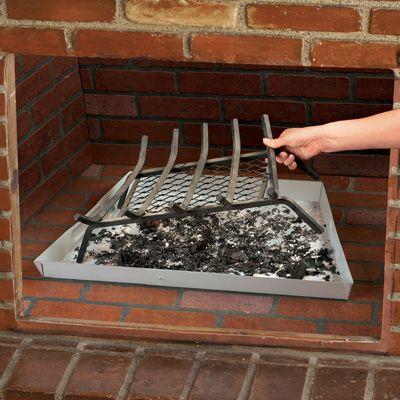 Expandable Fireplace Ash Tray