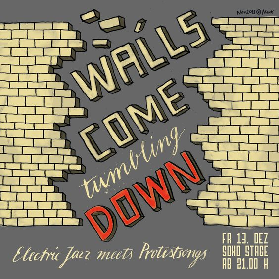 Walls come tumbling down
