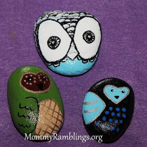 River rocks i painted my crafts diy projects for River rock craft ideas