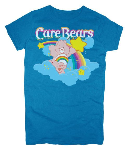 Giveaway: Care Bears Classic Cheer Bear Tee and Hinge Wallet from celebrityteenscoop.com!