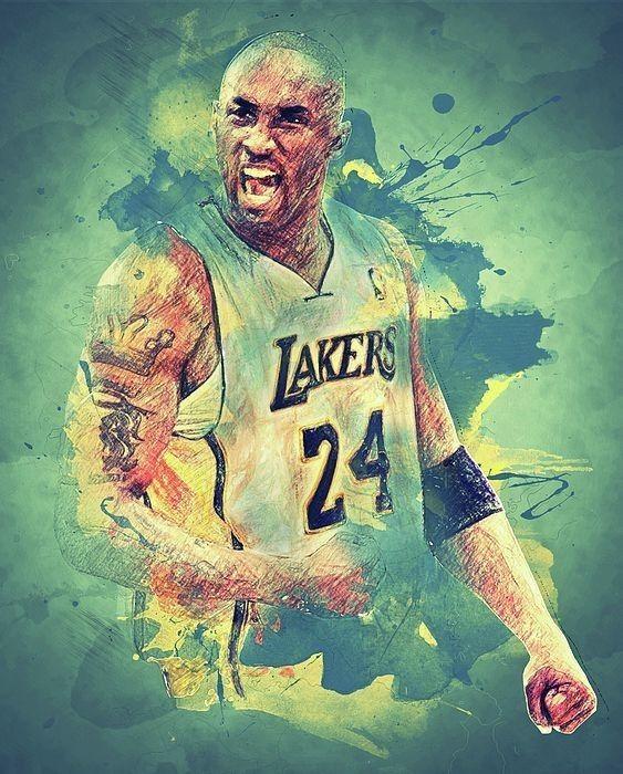 Kobe Bryant Poster Art Kobe Bryant Poster Kobe Bryant Pictures Kobe Bryant Wallpaper