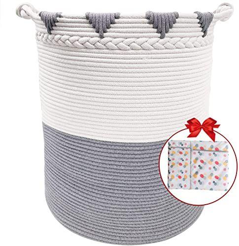 Best Seller Territrophy Xxxl Large Laundry Basket Cotton Rope