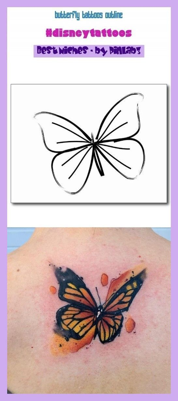 Butterfly Tattoos Outline Butterfly Tattoos Outline