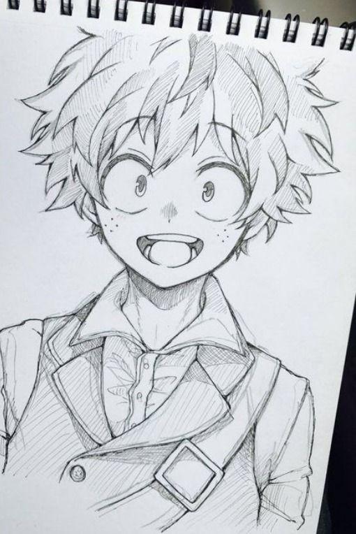 Como Desenhar Boku No Hero Academia Manga E Anime Personagens De Anime Arte Anime Desenho De Anime