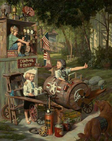 The Barnstormers    by Bob Byerley