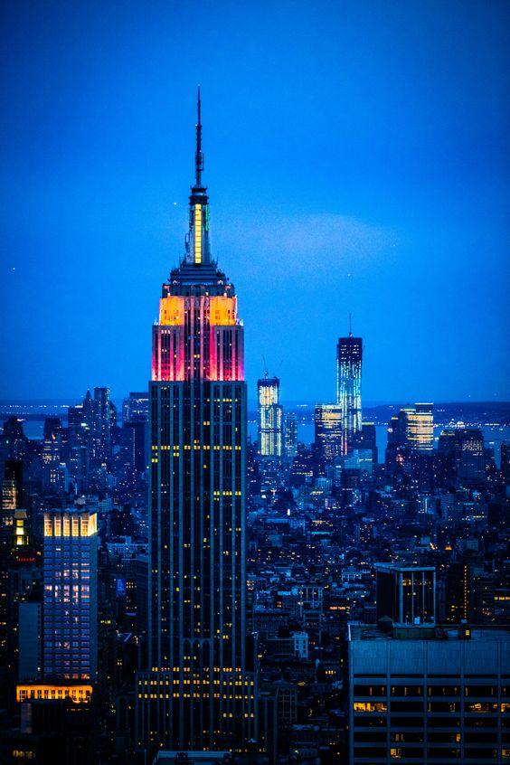 "breathtakingdestinations: ""Empire State Building - New York City - New York…"